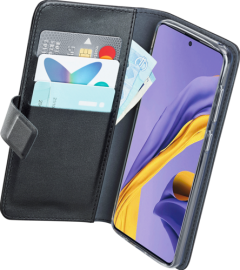 Azuri walletcase - black - Samsung A51