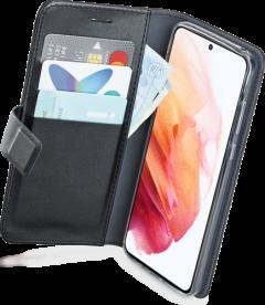 Azuri walletcase - black - for Samsung Galaxy S21