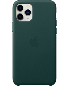 iPHONE 11 PRO LEATHER CASE FOREST GREEN