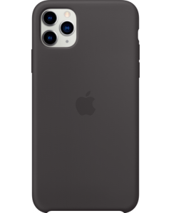 iPHONE 11 PRO MAX SILICONE CASE BLACK