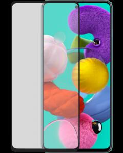 Azuri Tempered Glass flat RINOX ARMOR - black- Samsung A51
