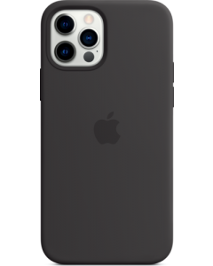 iPhone 12 | 12 Pro Silicone Case with MagSafe - Black