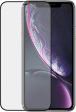 Azuri Front & Back protection pack - black - Apple iPhone Xr