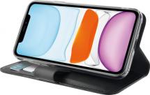 Azuri walletcase - magnetic closure & cardslots - black - iPhone 11