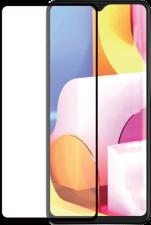 Azuri Tempered Glass flat RINOX ARMOR - black frame - Samsung A71 FG