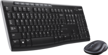 Logitech MK270 draadloze muis-toetsenbord AZERTY-BE